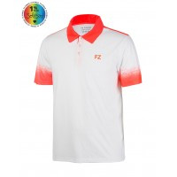 POLO DUBLIN MEN Blanc/Corail 2017