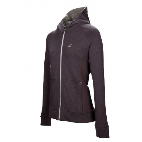 CORE HOOD SWEAT WOMEN Gris Foncé 2017