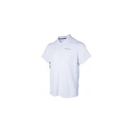 CORE POLY PIQUE POLO MEN Blanc