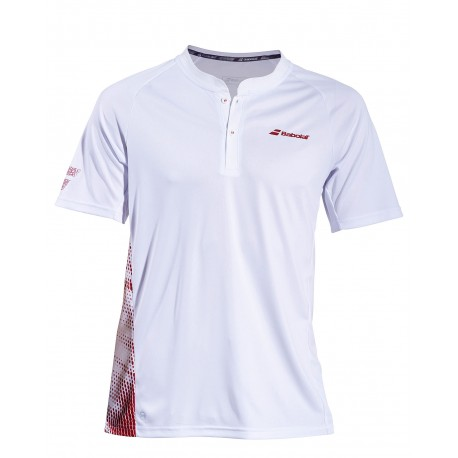 PERF POLO MEN White-Salsa 2019