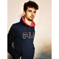 SWEAT HOODY WILLIAM Marine Unisexe