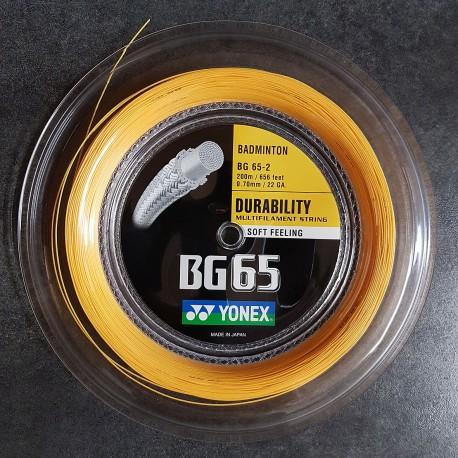 UST - POSE AVEC BG65 ORANGE YONEX