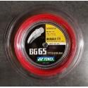 BCMJ - POSE AVEC BG65TI ROUGE YONEX