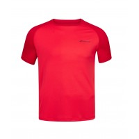 PLAY CREW NECK TEE MEN Tomato Red 2020