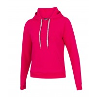 EXERCISE HOOD SWEAT WOMEN Red Rose 2020