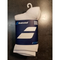 PACK 3 PAIRES CHAUSSETTES BABOLAT Blanches