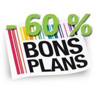 Bons Plans - 60 % ! et +