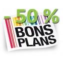 Bons Plans - 50 % ! et +