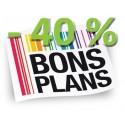 Bons Plans - 40 % ! et +